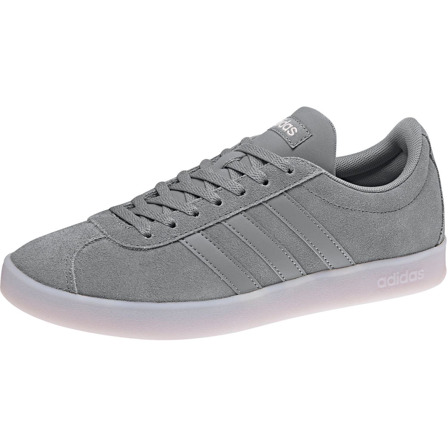 a951826ba4e361 Adidas Ladies VL Court 2.0 w Trainers Shoes db0839 Grey