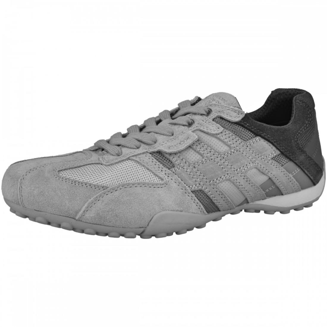 Geox RESPIRA Uomo Snake e Sneakers da Uomo Scarpe Basse u8207e c1415 Grey  Stone 5985cd6076a