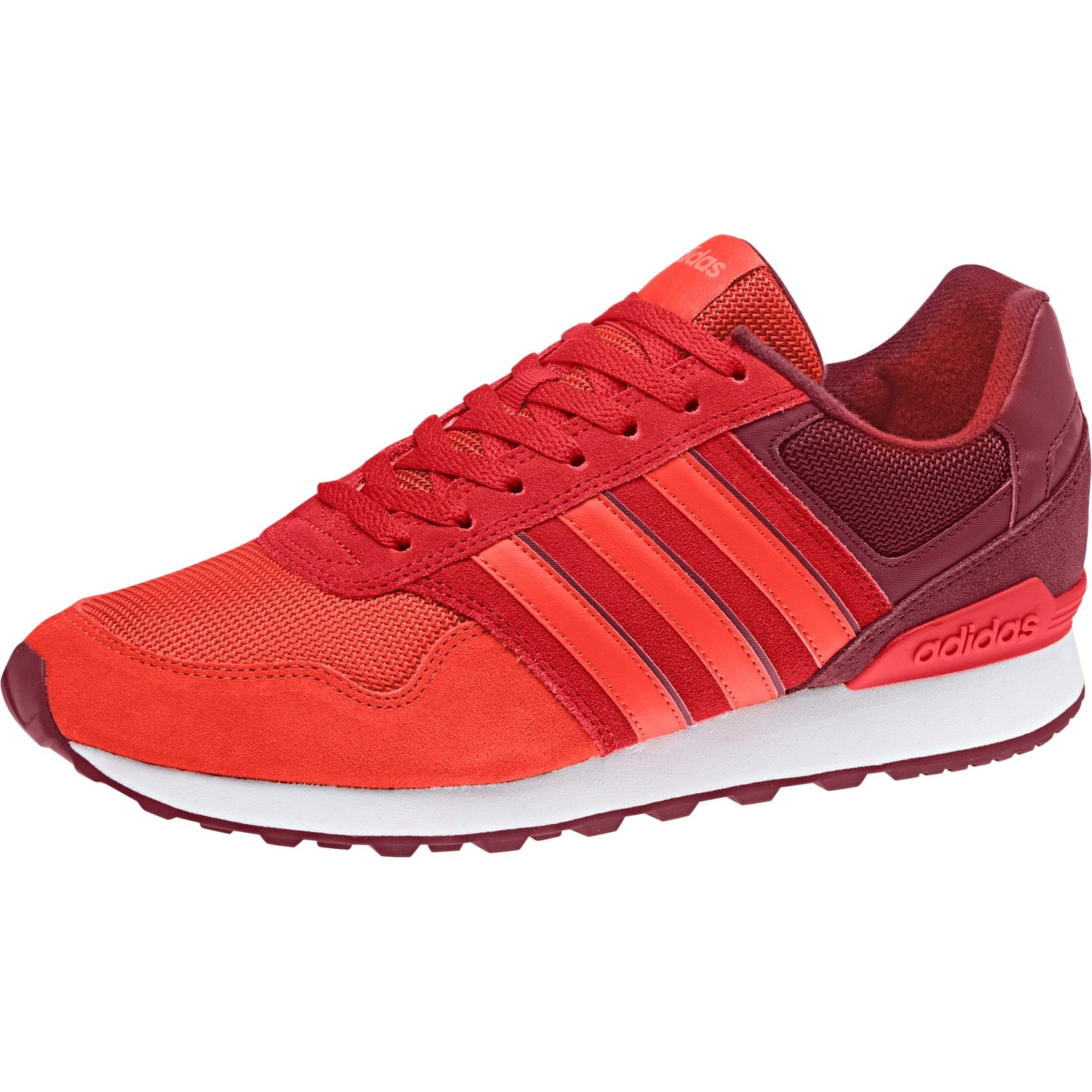 buy popular a818f 225fb adidas performance shoes sneaker NEO mens 10 k low top red DB0470 core