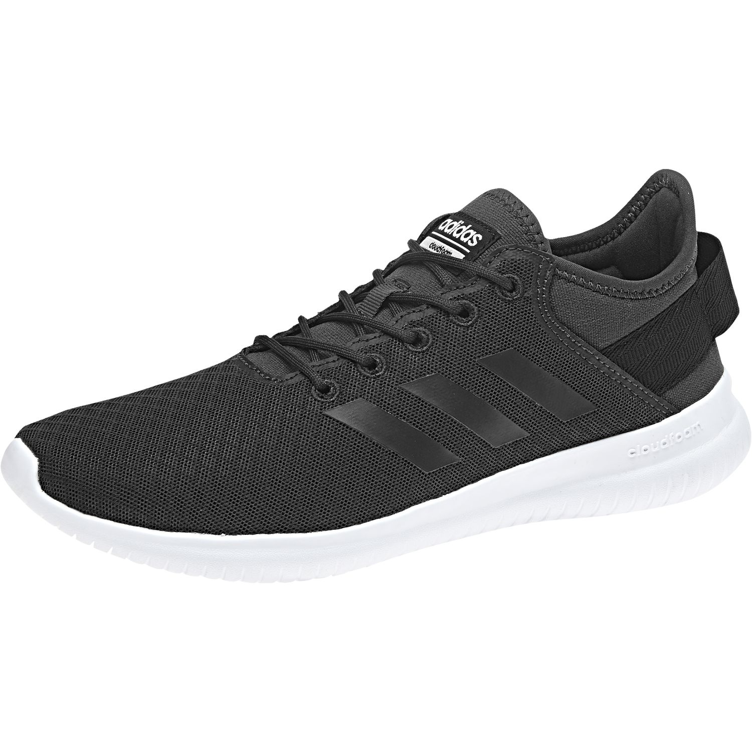 huge discount df0c6 8fa7a adidas Ladies Cloudfoam CF QTFLEX W Sneakers Shoes running shoes DA9449  carbon