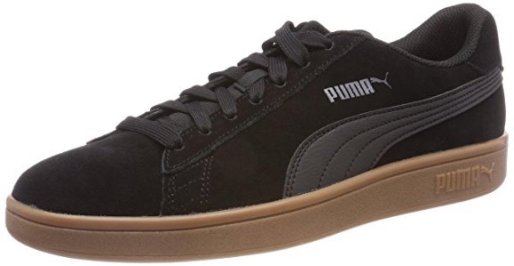 8472012e34846 Puma Smash V2 Unisex Adult Trainers 364989 Black | eBay