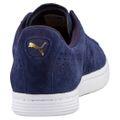 Puma Court Star Suede Unisex-Erwachsene Sneakers 364621 Peacoat Dunkelblau