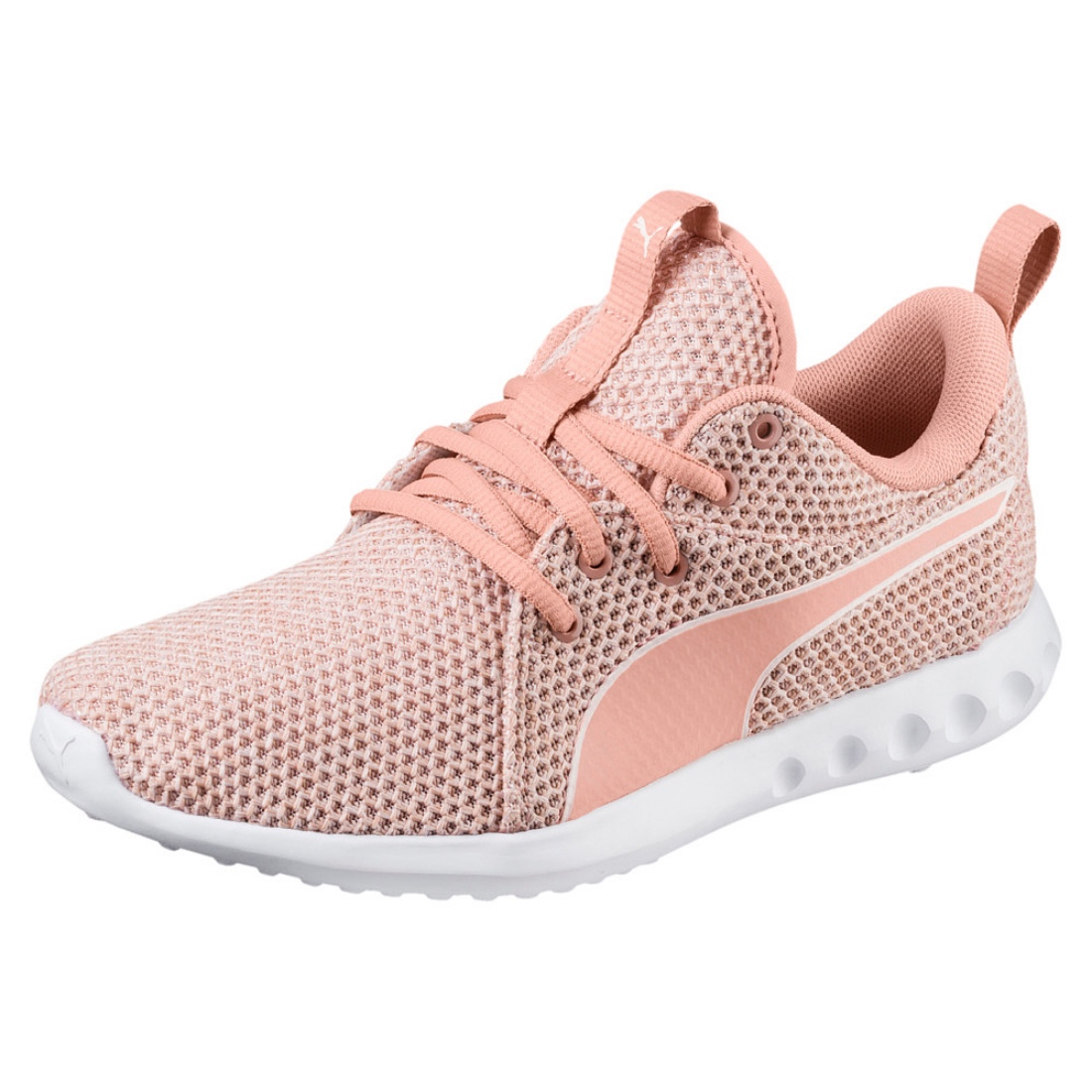 1dc4096e77e7ab Details about Puma Carson 2 NATURE KNIT WN S LADIES RUNNING SHOES TRAINERS  190525 Pearl Peach