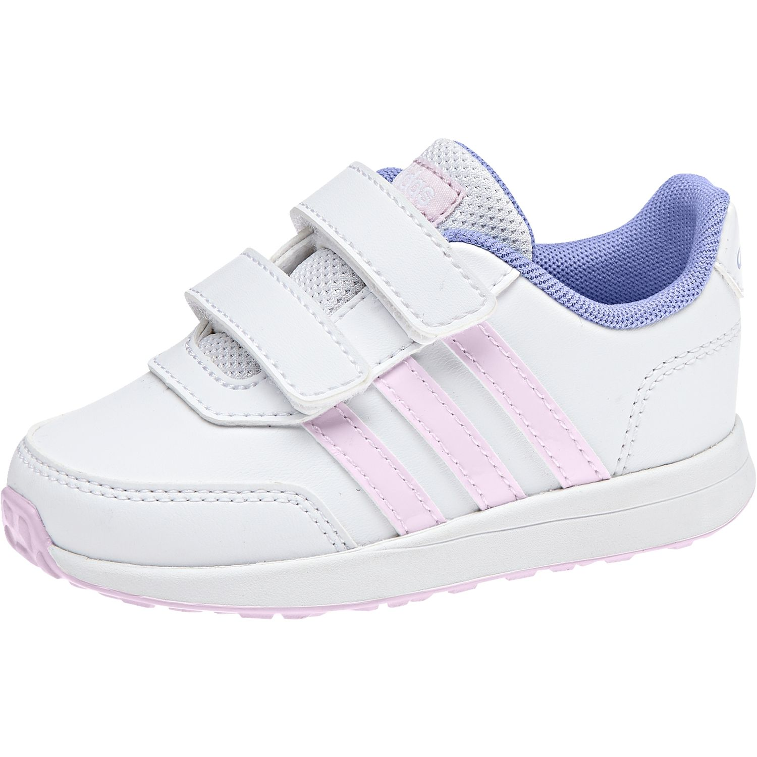 the best attitude 72f3f 80ec7 adidas performance VS SWITCH 2.0 CMF INF kids running shoes DB1926 white  pink