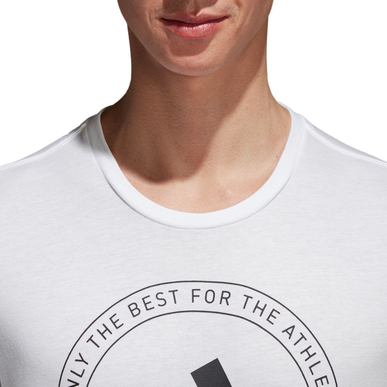 adidas Herren Essentials ADI EMBLEM Tee T Shirt CV4515