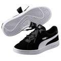 Puma Mädchen Smash v2 Ribbon Fat Laces Sneaker Schuhe Turnschuhe 366004
