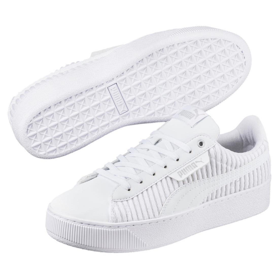 Details about Puma Vikky Platform EP Q2 Ladies Sneaker Shoes 366455 White  Sale