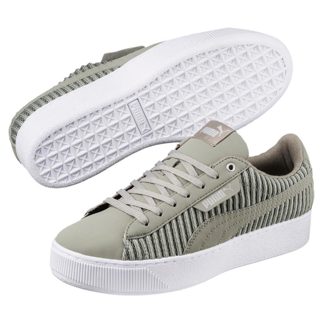 Puma Vikky Platform EP Q2 Damen Sneaker Schuhe 366455 Rock