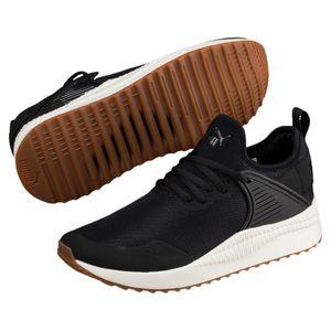 Puma Pacer Next Cage Laufschuhe Vintage Schuhe Softfoam 365284 Schwarz Weiß