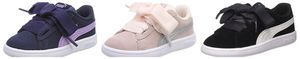 Puma Mädchen Inf Baby Smash v2 Ribbon Fat Laces Sneaker Schuhe Turnschuhe 366005