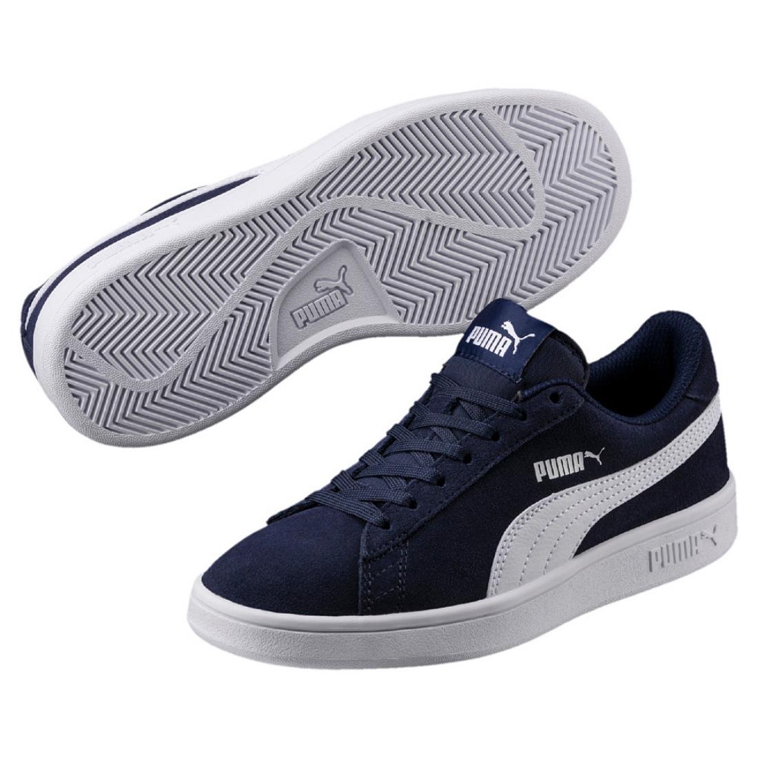 346a0216b45 Puma Smash V2 SD Jr Low-Top Unisex Children Women s Shoe Sneaker ...