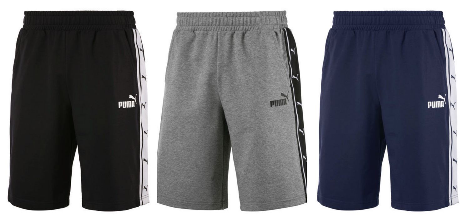 c0e889d5a3dd Details about Puma Heritage Tape Track Shorts Tr/Trackies Shorts Joggers  Retro 853108