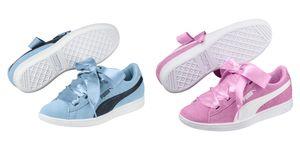 Puma Mädchen Damen Vikky Ribbon Fat Laces Sneaker Schuhe Turnschuhe 367639