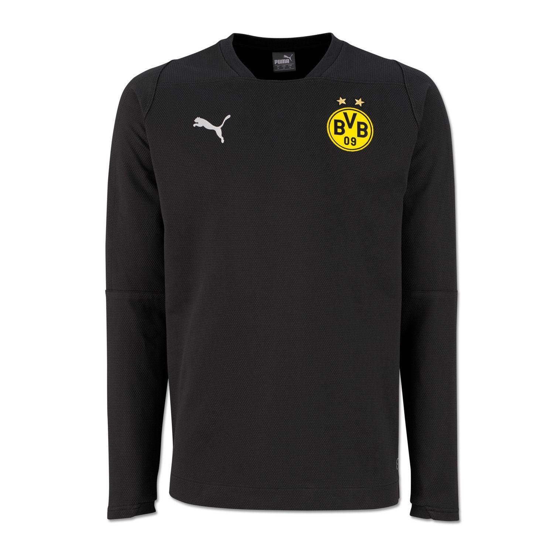 info for 2e977 21cb3 Details zu Puma Herren BVB Casual Sweat BVB-SWEATSHIRT Fanwear 753718