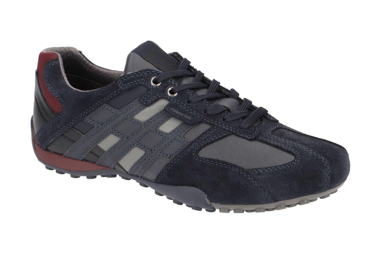 Details about Geox Respira Uomo Snake K Men's Sneakers Low Shoes U4207K C4064 Navy Sale
