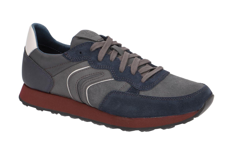 Reverberación Desnatar comodidad  Geox Respira Vincit B Zapatillas de Hombre Zapatos U845VB Navy ...