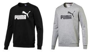 PUMA Herren Essential ESS Logo Crew Sweat FL Big Logo Sweatshirt Langarm 851747