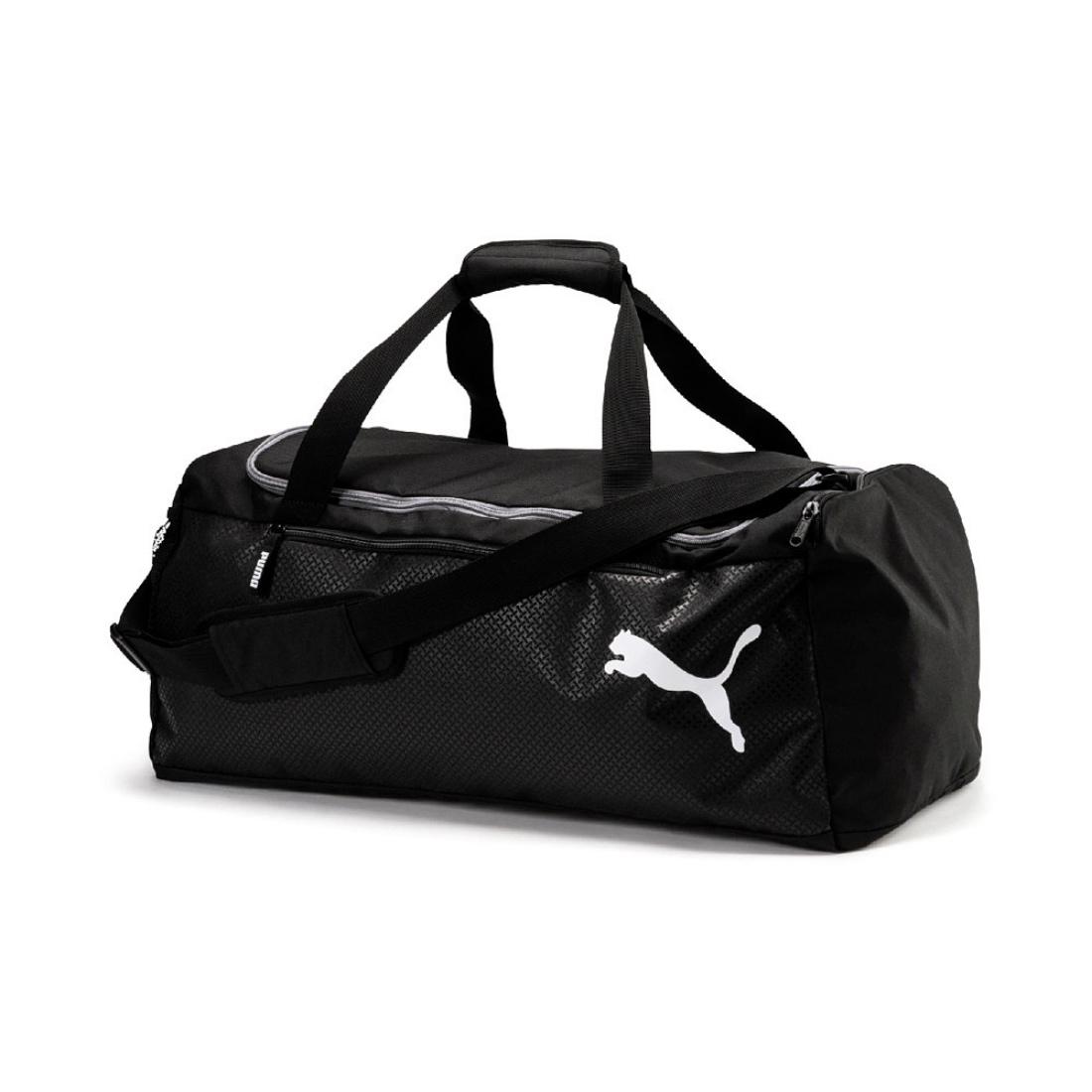 5f3629897 Details about Puma Fundamentals Sports BAG M   Sports Sport Bag SIZE M  075528