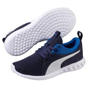 Puma Carson 2 JR Unisex Kinder Turnschuhe Sneaker Schuhe 190072 Peacoat
