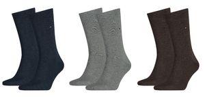 Tommy Hilfiger Herren Strümpfe Business Socken 2 Paar 371111 Unifarben
