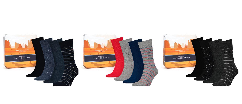 Tommy Hilfiger Business Herren Socken 3er Pack Geschenkbox