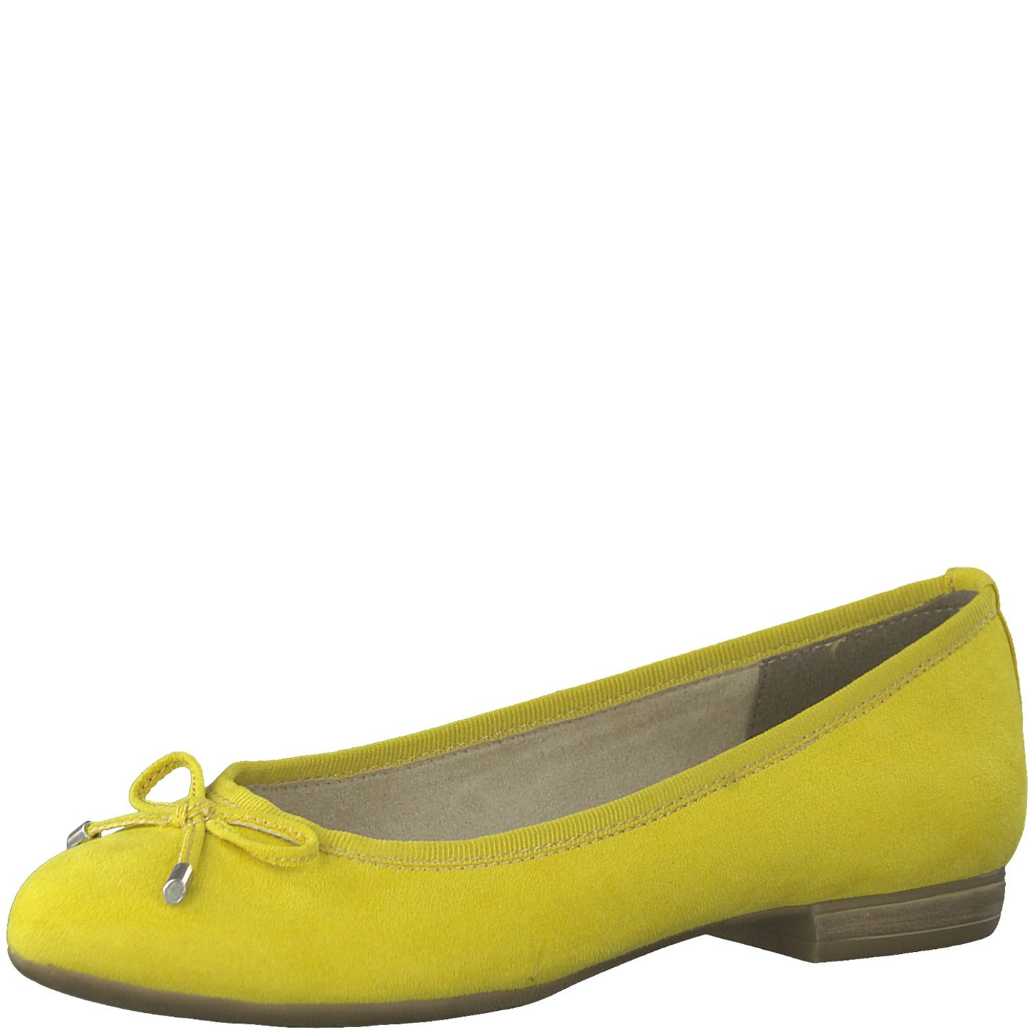 Details about Marco Tozzi 2 22135 32 Ladies Ballerina Slippers Yellow