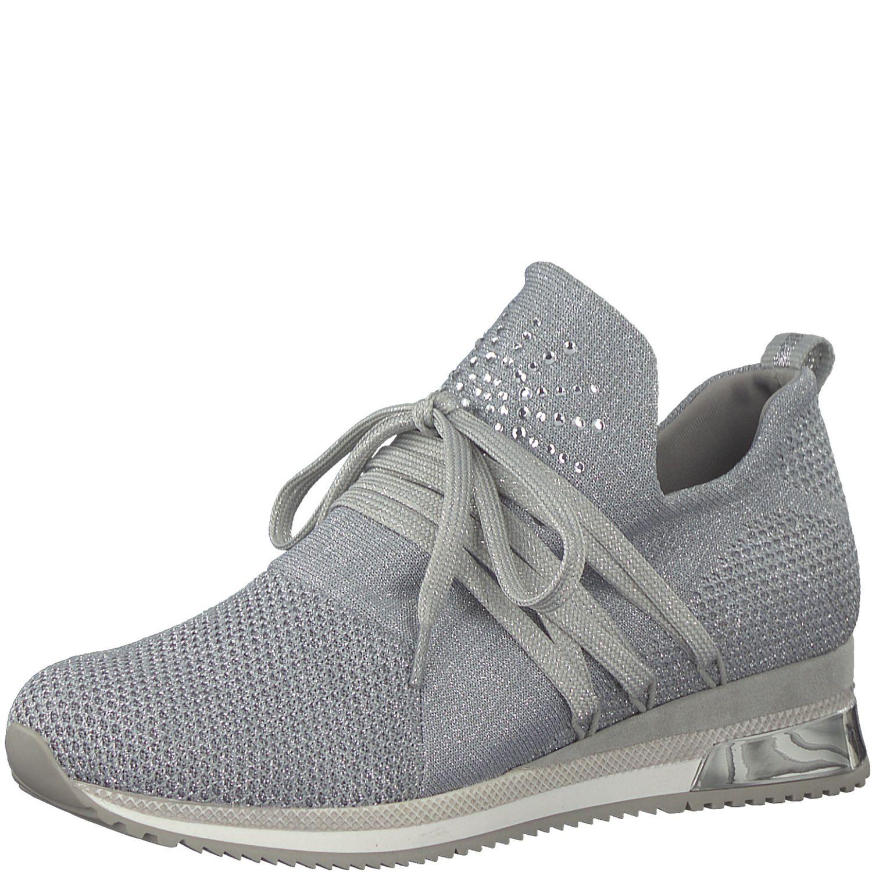 Details zu MARCO TOZZI Premio Fashion Sneaker Schuhe Low Top 2 23738 32 Silber
