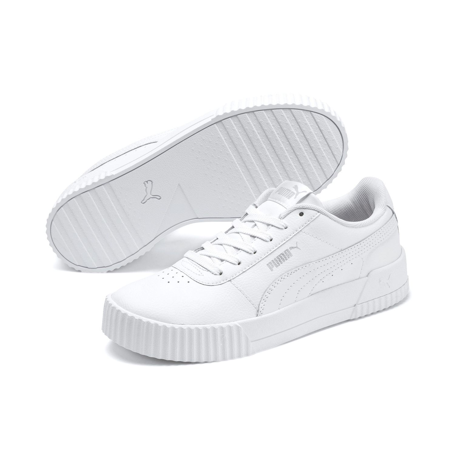 Details about Puma Cabasag L Ladies Streetstyle Trainers Clubwear 370325  Puma White