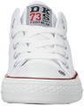 DOCKERS by Gerli 38AY613-710500 Damen Kinder Unisex Canvas Sneaker Low Top Weiß