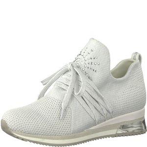 MARCO TOZZI Premio Fashion Sneaker Schuhe Low Top 2-23738-32 White Metallic