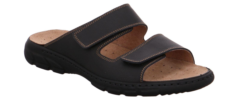 Schwarz Zu Herren Rohde Wechselfußbett Klettverschluss Sandale Details 6502 Pantoletten iPkZTOuX