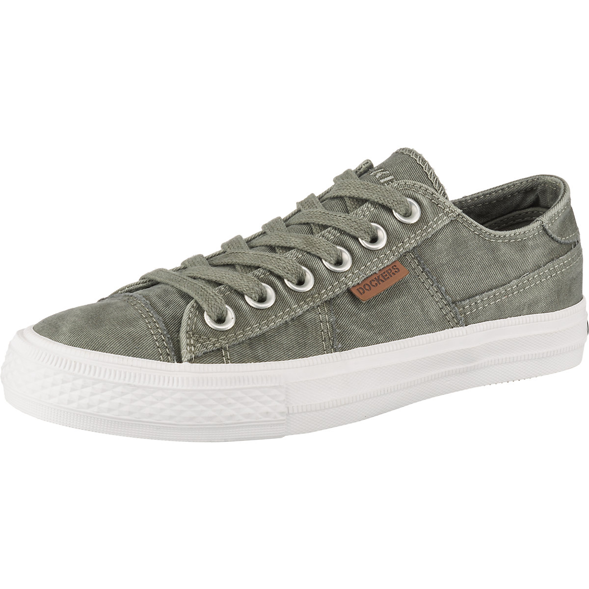 online retailer 2bda7 930bf Details about Dockers by Gerli 40th201-790850 Canvas Ladies Sneaker Shoes  Khaki