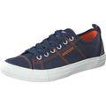 DOCKERS by Gerli 44VK001-790600 Herren Sneaker Washed Canvas Schuhe Navy