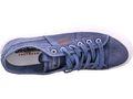 DOCKERS by Gerli 40DN001 Herren Sneaker Washed Canvas Schuhe Blau