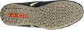 Geox Respira Uomo Snake U4207L C4002 Herren Sneakers Halbschuhe Slipper Navy Blau