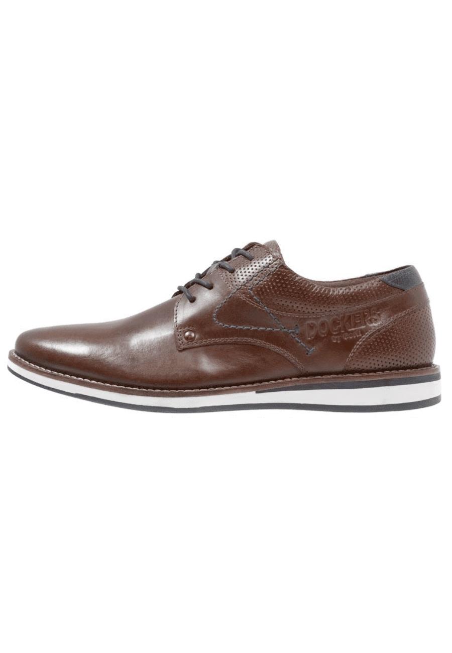Brandneu Herbst Schuhe Online-Einzelhändler Dockers by Gerli 44TL001 Herren Derby elegante sportliche ...