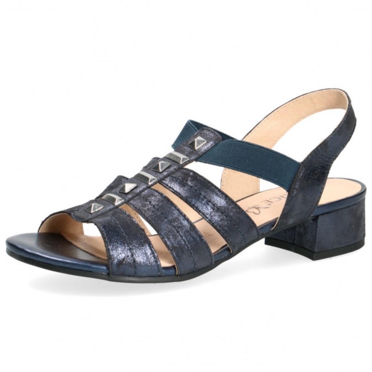 new product on feet images of release date Details zu CAPRICE Damen Riemchensandalen Sandalen Sandaletten 9-28204-22  Ocean Blau