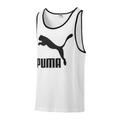 PUMA Herren Classic Tank Logo Tank SL Tee / T-Shirt 577965 Weiß