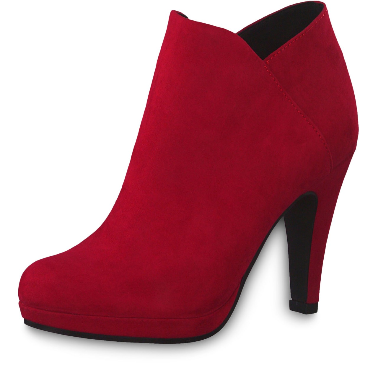 Details about Marco Tozzi Ladies Ankle Boots Ankle Boots High Heel 2 25329 33 Red