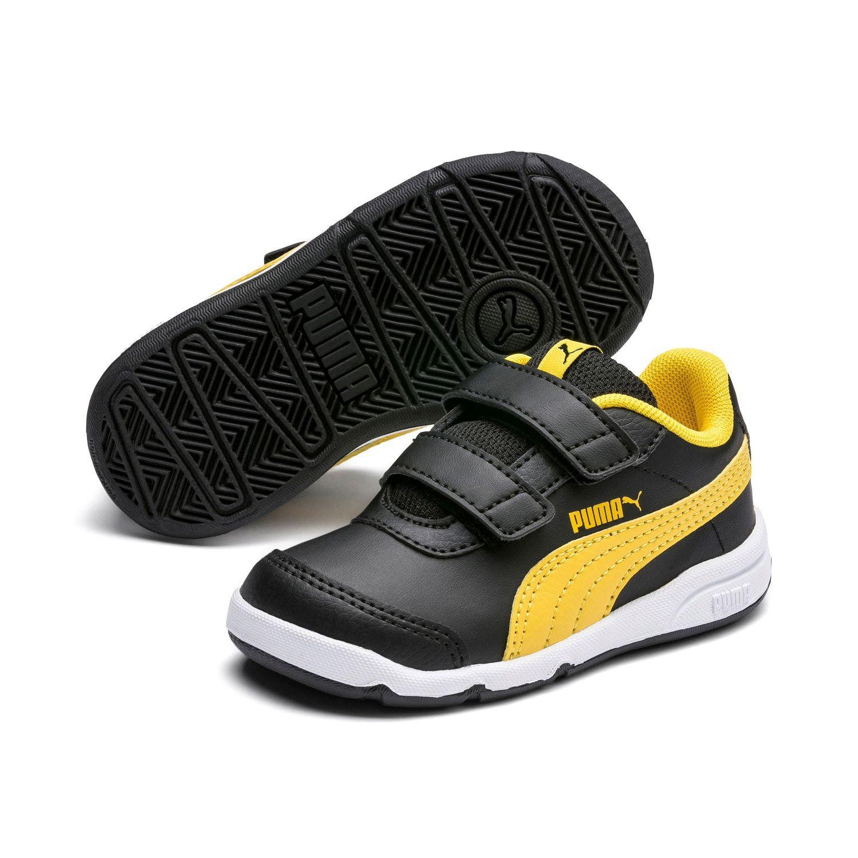 puma sportschuhe schwarz gelb