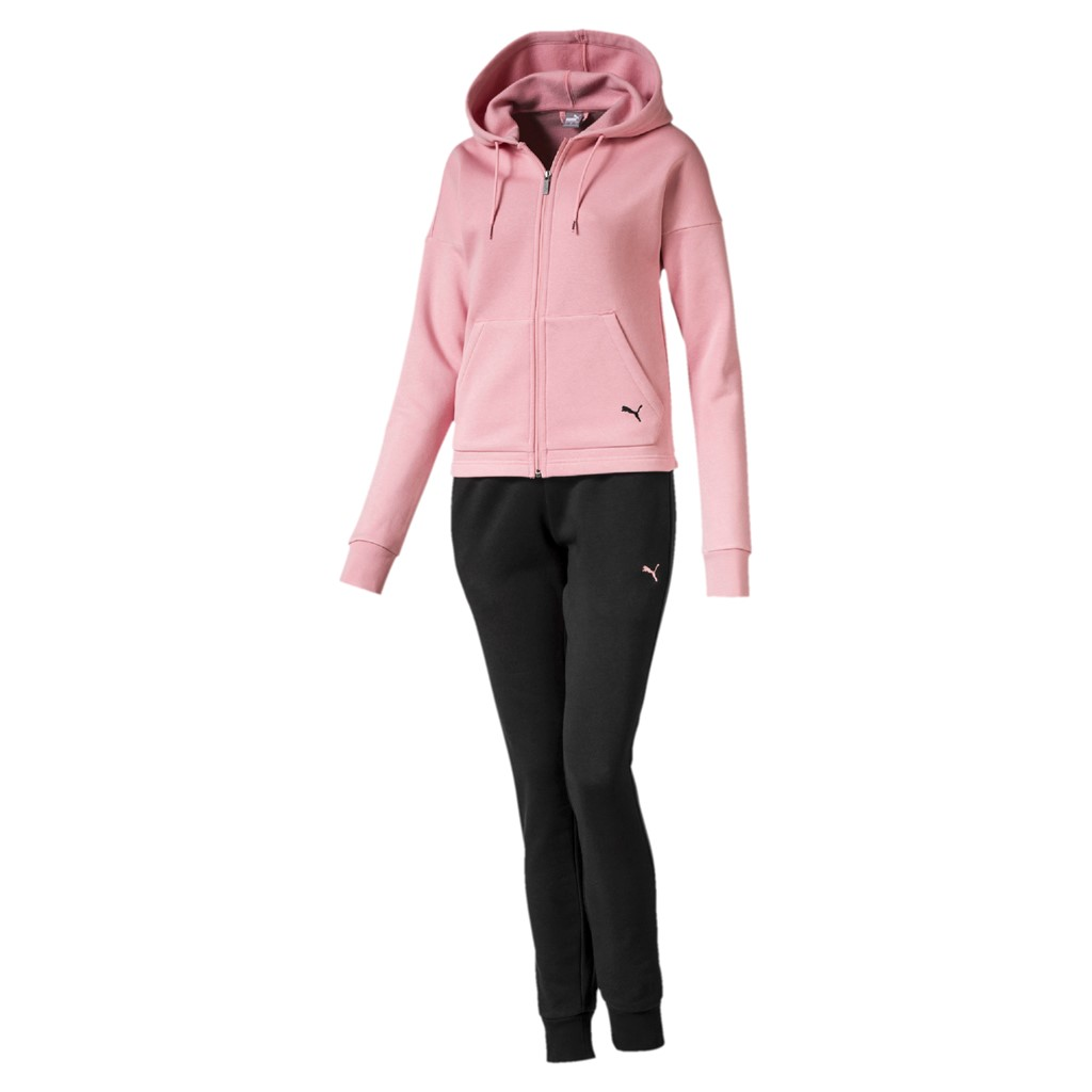 Puma Damen CLASSIC HD. SWEAT SUIT CL / Trainingsanzug DryCell 580492 ...