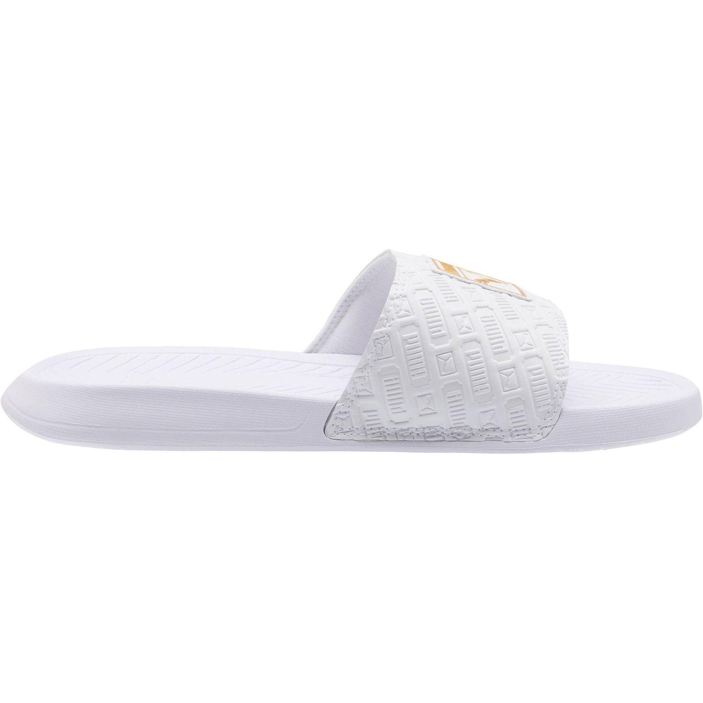 PUMA Damen Badeschuhe Badesandale Popcat Reinvent WNS 370696 Weiß