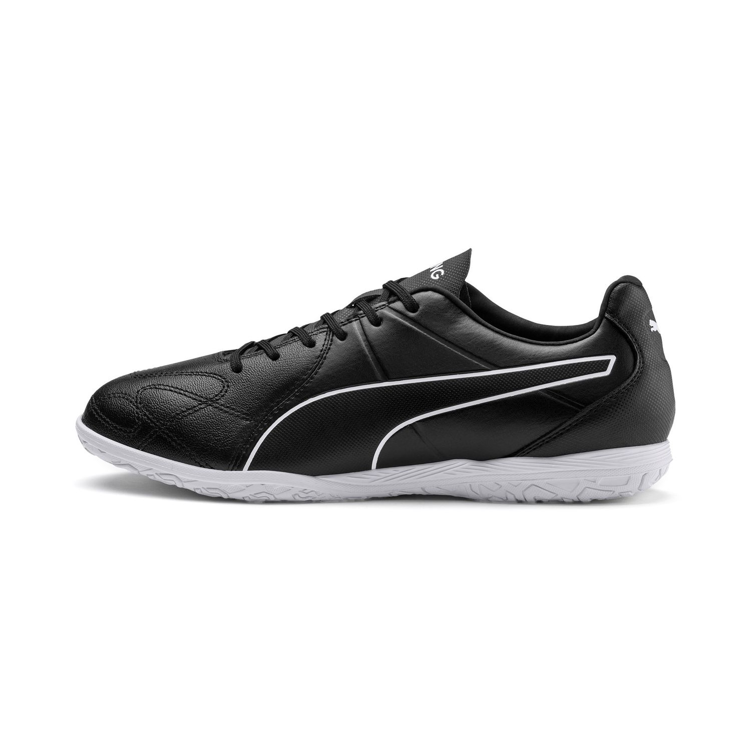 Puma King Hero It Indoor Soccer Shoes 105673 Black Puma