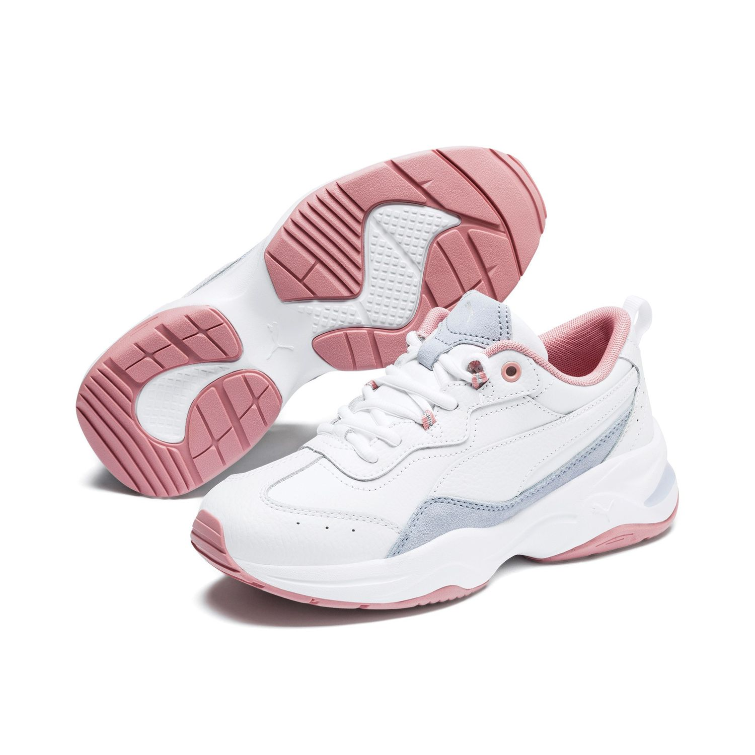 Details about Puma Cilia Lux Fitness Shoes Jogging Shoes Trainers 370282 White Rose