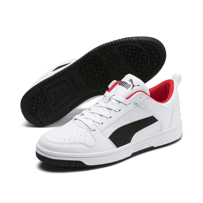 Details zu Puma Rebound Mid Herren Schuhe Sneaker Turnschuhe Dunkelrot Gr 40 44,5 NEU