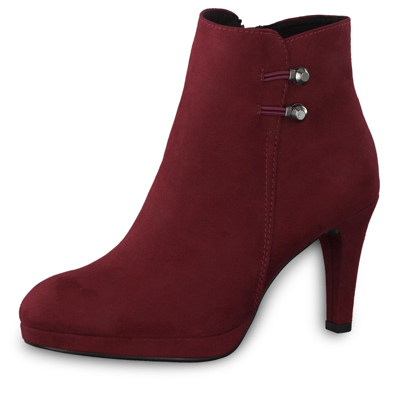 Details about Marco Tozzi Ladies Ankle Boots Ankle Boots High Heel 2 25342 33 Chianti Red