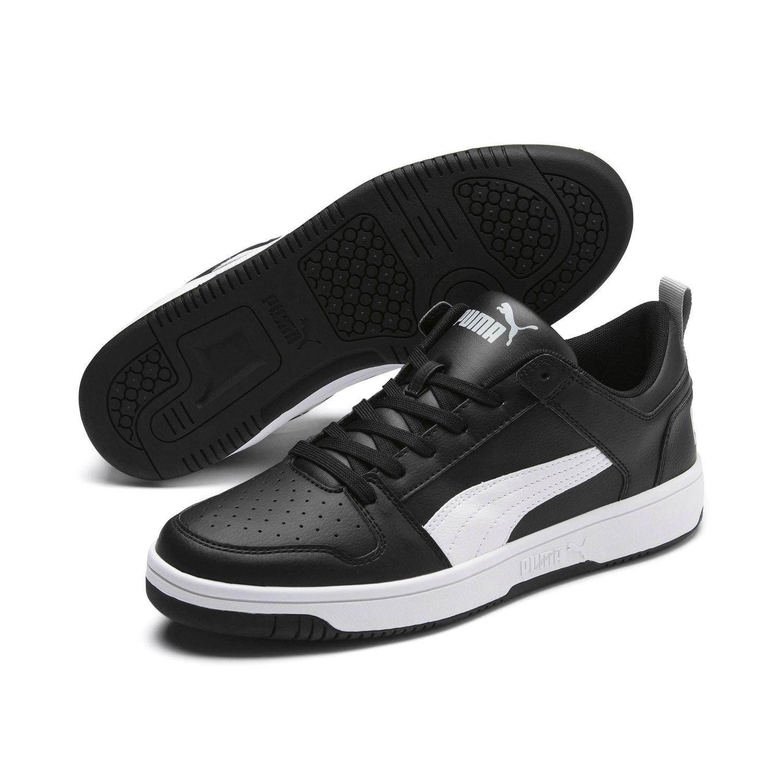 Puma Rebound LayUp Lo SL Schuhe Sneaker 369866 02 Schwarz