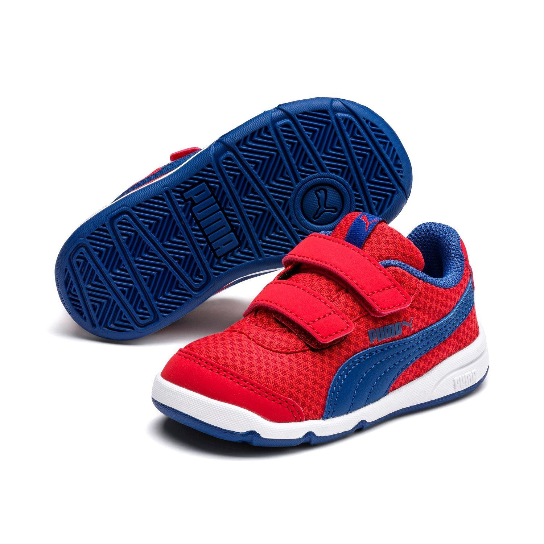 lenkkitossut tukkukauppa 50% hinta Details about Puma Stepfleex 2 Mesh Ve V Inf Children Baby Shoes Trainers  192525 Red