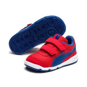 Puma Stepfleex 2 Mesh VE V Inf Kinder Baby Schuhe Sneaker 192525 Rot