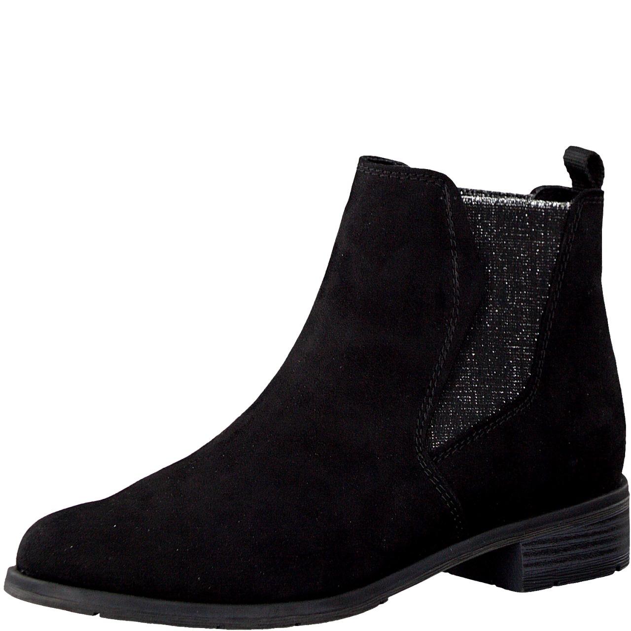 Details about Marco Tozzi Ladies Ankle Boots Chelsea Boots 2 25321 33 Black